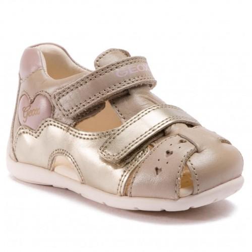 8c9fe6c3 Buty dziewczęce GEOX B9251A beżowo-złote - sklep Baby-Center